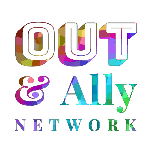 out & ally network logo